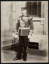 c.1890's PHOTO  - BRITISH ARMY UNIFORM BAND SERGEANT 1st SCOTS GUARDS