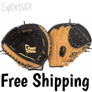 "Mizuno Prospect GXC105 32.5"" Youth Baseball Catcher's Mitt Glove RHT LHT 311667"