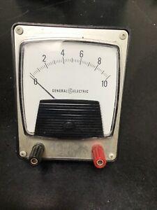General Electric Milliamperes Meter