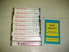 Lot Math Monster VHS episode 1 3 6 7 8 9 10 12 Addition Youth Book Video Anxiety