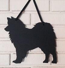 Samoyed Handmade Chalkboard w/chalk & Eraser Dog Blackboard Handmade