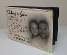 Personalised photo album, Memory book, Wedding day present for Mother of Groom