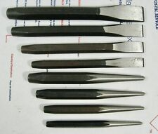 8 Proto Professional Chisels & Punches- NOS USA