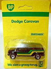 "Matchbox Superfast No. 64E Dodge Caravan ""BP"" Werbemodell"