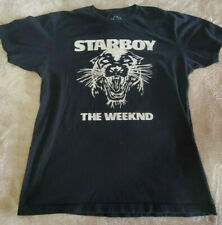 OFFICIAL Issue XO The Weeknd Starboy Panther T-shirt SIze Large Short Sleeve