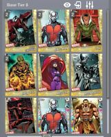 Topps Marvel Collect - 7 Gold Short print cards DIGITAL
