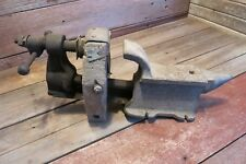 "Vintage EARLY RARE ""40"" ILLINOIS Vice As Found In Barn - Must SEE!"