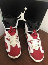 Nike Air Jordan VI 6 Retro BG WHITE CARMINE RED BLACK INFRARED 384665-160 Boys 4