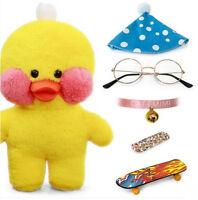Lalafanfan Cafe Mimi Yellow Duck Plush Toy Stuffed Doll Birthday Christmas Gift