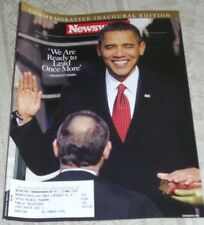 NEWSWEEK MAGAZINE COMMEMORATIVE INAUGURAL EDITION PRESIDENT OBAMA 2009