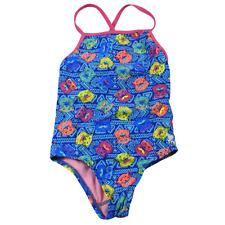 TYR Multi-Color Bear Sunglasses One Piece Swim Suit Girls Size M (7/8)