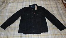 XXL BNWT MENS XXL LEVI`S COMMUTER HOODED WATER RESISTANT DENIM TRUCKER JACKET