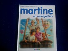 Martine en mongolfiere by Gilbert Delahaye New French