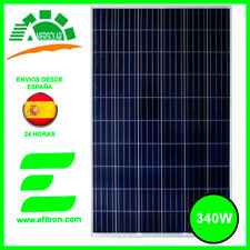 Placa solar panel 340  Wp 24V (72 célu)  AMERISOLAR Modulo fotovoltaico. EFITRÓN