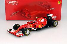 Kimi Räikkönen Ferrari F14 T #7 Formel 1 2014 1:18 HotWheels Foundation