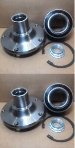 FRONT WHEEL HUB & BEARING KITS FOR 2001-2005 BMW 325xi  AWD ONLY PAIR