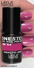 Layla Smalto Unghie One Step Gel Polish N.64 Nasty