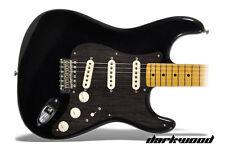 Fender Squier Stratocaster Protective Vinyl Sticker Guitar Pick Guard DARKWOOD