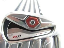 Used TaylorMade R11 5-PW IRONS IRON Set R 11 Graphite Motore 65 R-Flex