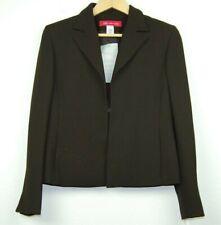 Women's Anne Klein Fitted Jacket Brown Blazer Petite 8P Retail $179