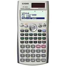 Casio Fc-200V Financial Calculator with 4-Line Display 12 Digit Calculator New
