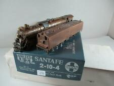 Santa Fe 2-10-4 Steam Loco United PFM BRASS H0 Gauge ATSF SF h198