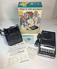 Panasonic Cassette Recorder Player RQ-4095 Works Box Cord Vinyl Case  Paperwork