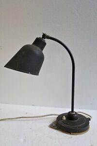 Bauhaus Lampe Tischlampe Werkstattlampe Industrie Loft Art Deco BUR ? Kaiser ?