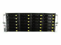 SuperMicro 4U CSE-846 24 Bay SAS2 BP X9DRi-F/2x W/ 2x E5-2630Lv2 16GB IT MODE