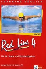JENNIFER BAER-ENGEL - RED LINE NEW. FIT FüR TESTS UND SCHULAUFGABEN 4. ARBEITSH