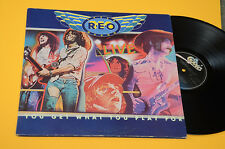 REO SPEED WAGON 2LP LIVE 1°ST ORIG OLANDA 1979 TOP EX GATEFOLD COVER
