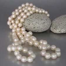 Perlenkette Zuchtperlen Ø ca. 7,3 mm / Länge ca. 85 cm ohne Verschluss