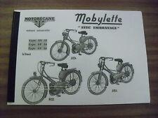 Mobylette/Moped/AV33/AV34/AV54/In French/ Parts Book With Exploded Diagrams