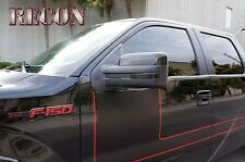 RECON FORD F150 / RAPTOR SMOKED MIRROR LENSES 09-14 PART# 264240BK