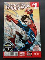 Marvel Comics Amazing Spider-Man #1 2014 Humberto Ramos 1st Cindy (Silk) Moon!