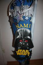 XXL Star Wars Schultüte / Zuckertüte Darth Vader mit Leuchtschwert, NEU !!!