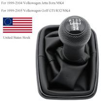 Fit For Vw Golf Bora Jetta Mk4 Gti R32 99 05 5 Speed Gear Shift Knob Gaitor Boot Fits Jetta