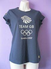 adidas Team GB London 2012 Olympics navy blue T-shirt 16 (12-14) Venue top