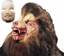 Morris Costumes New Werewolf Foam Spongy Latex Prosthetics Face Mask. HD600127