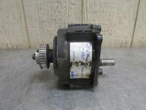 Bison 030-250-9059 Inline Gear Reduction Box Speed Reducer Gearbox 19.1:1 Ratio