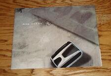 Original 2000 Honda Full Line Sales Brochure 00 Accord Civic CR-V S2000