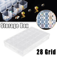 28 Grid Storage Box Accessory Organizer Container Case Jewelry Container Home