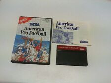 AMERICAN PRO FOOTBALL master system