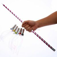 1Pc Appearing Cane Rising Jumping Wand Close Up Stage Trick Magic Plastic Wand