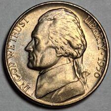 1950-D Jefferson Nickel Five Cents UNC 190747p