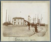 Algérie, Philippeville (Skikda سكيكدة), Entrée du Port  Vintage citrate print. P