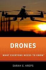 DRONES - KREPS, SARAH - NEW HARDCOVER BOOK