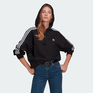 adidas Women's Originals Adicolor Classics Crop Hoodie
