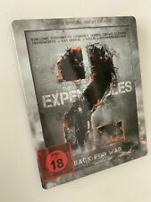 The Expendables 2 - Back for War - Limited Special Uncut Steelbook Ed. | Blu-Ray