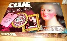 Rare SEALED NEW AUTHENTIC JUICY COUTURE CLUE GAME BOARD LIMITED EDITION charms